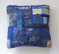blue boro cushion